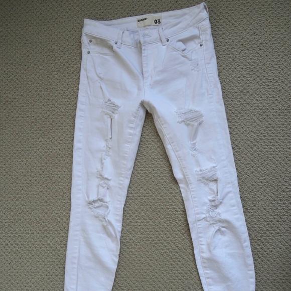 White Garage Jeans